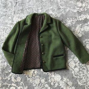 Vintage Wool Coat • sz 42
